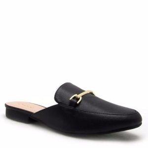Shoes - Black Mules